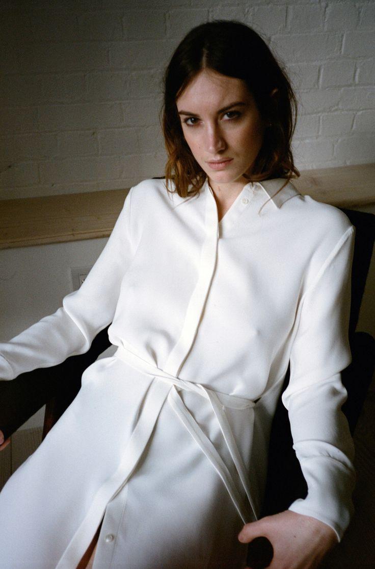 Alex Eagle Silk Shirt Dress