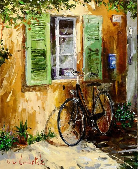 Gleb Goloubetski (b1975; Omsk, Siberia, Russia) Recently discovered this artist.  Really enjoy his impressionist style and subject matter.