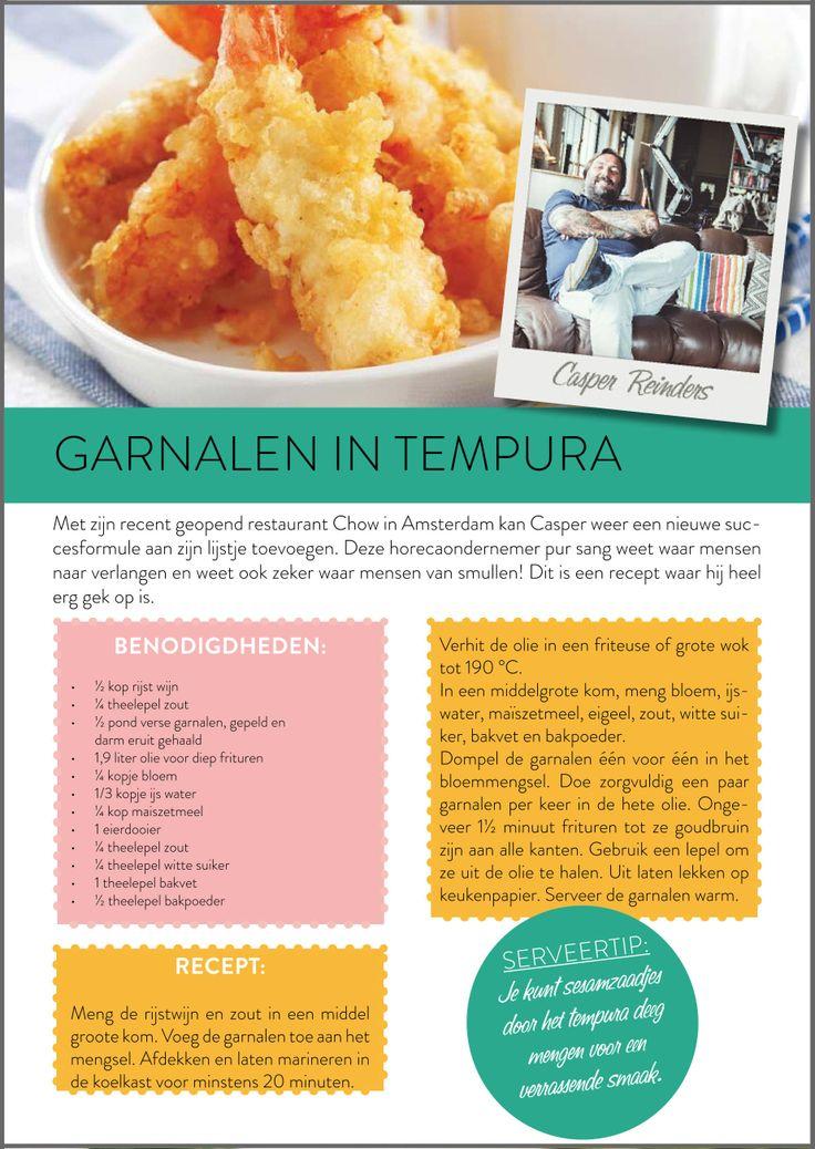 Garnalen tempura