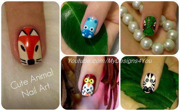 Cute+Animal+Nail+Art+Vol.2+