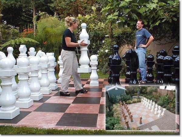Life Size Chess Set, Want!
