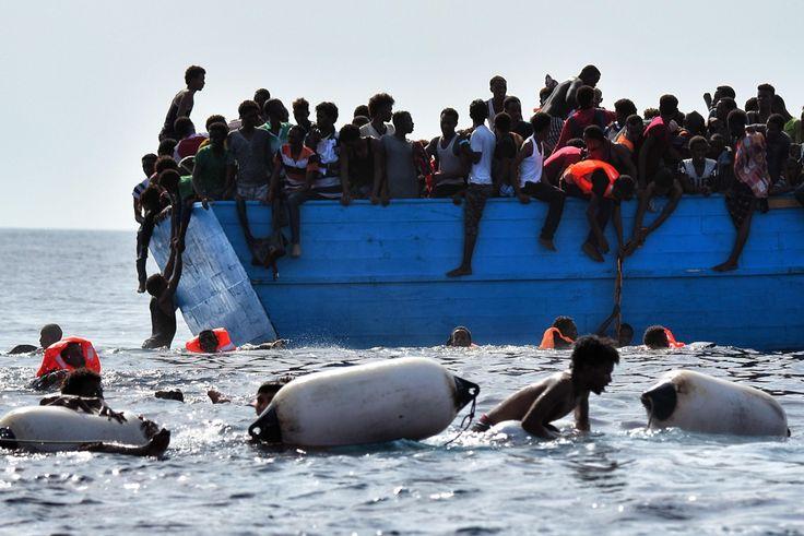 Opnieuw 1.800 migranten gered uit Middellandse Zee - De Standaard