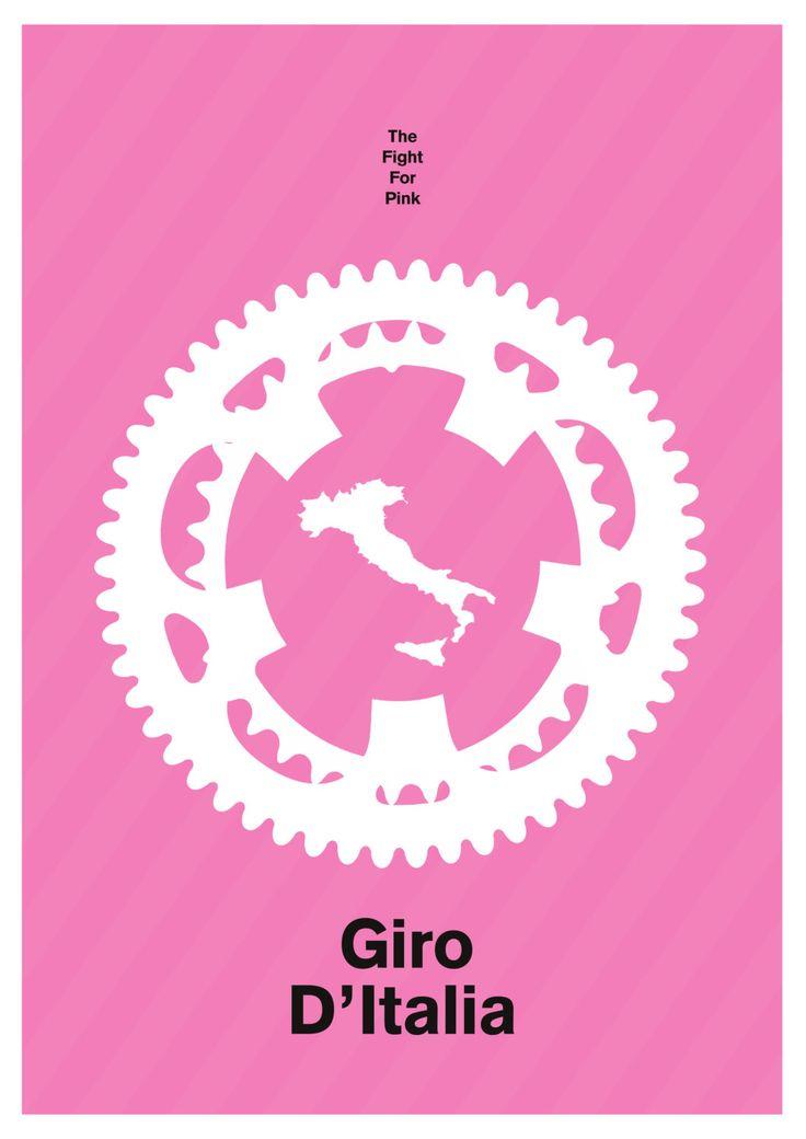 Giro d'Italia by StevieCarnieDesign on Etsy https://www.etsy.com/listing/262234025/giro-ditalia