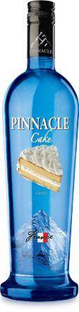 Pinnacle Cake Flavored Vodka *__*