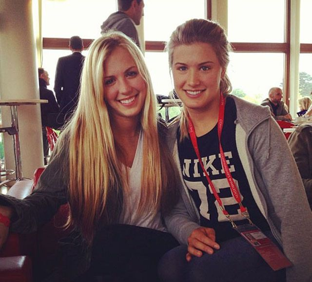 Twins Eugenie & Beatrice Bouchard