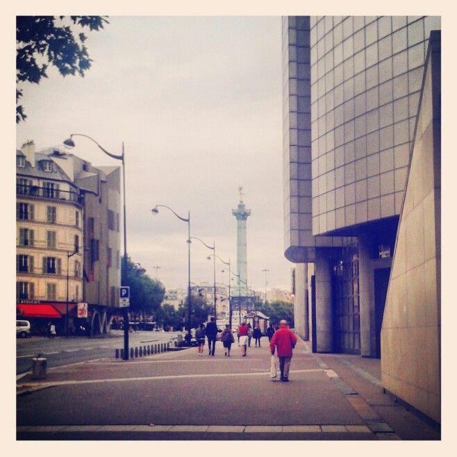 Opéra Bastille X Place de la Bastille #Paris #Bastille