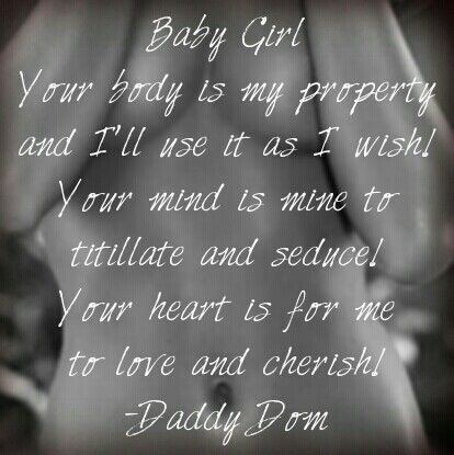 Daddy its yours always and forever father