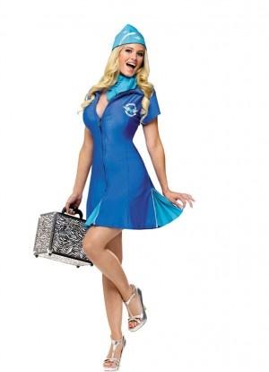 In Flight Delight Air Hostess (Britney Spears Toxic) Fancy ...
