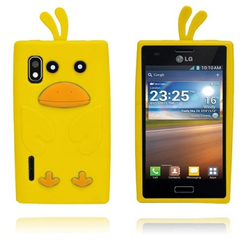 And (Gul) LG Optimus L5 Cover