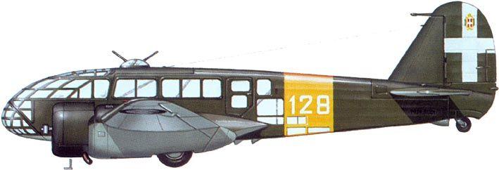 Caproni Ca.311 - Regia Areonautica