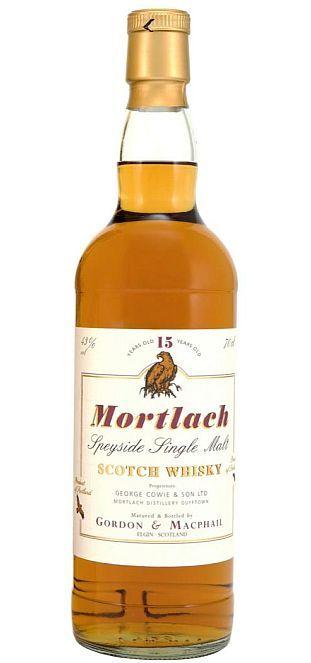 Mortlach Speyside 15 year single malt scotch whisky