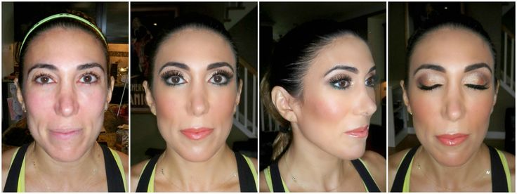 Glamorous gold & bronze eyemakeup with a pop of teal eyeliner. Used MAC foundation, blush, contour, & shadows. Urban Decay eyeliner. Buxom lip gloss. #dceliteimage by Teresa Foss-Del Rosso