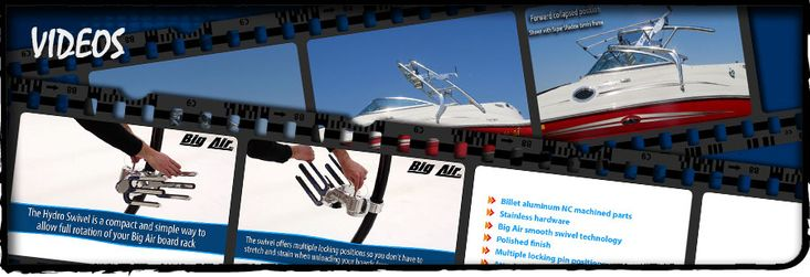 Need some video support? Big Air Waketowers is here to save the day! boat tower // universal wakeboard tower // wakeboard towers for sale // boat wakeboard tower // boat towers for sale // cheap wakeboard tower // folding wakeboard tower // collapsible wakeboard tower // aluminum wakeboard tower // stainless steel wakeboard tower // pylon // wakeboard tower accessories // youtube video help //