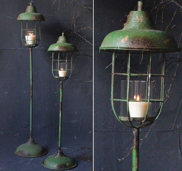 Metal Standing Lantern Pillar Holders In 2019 1 Floor Candle