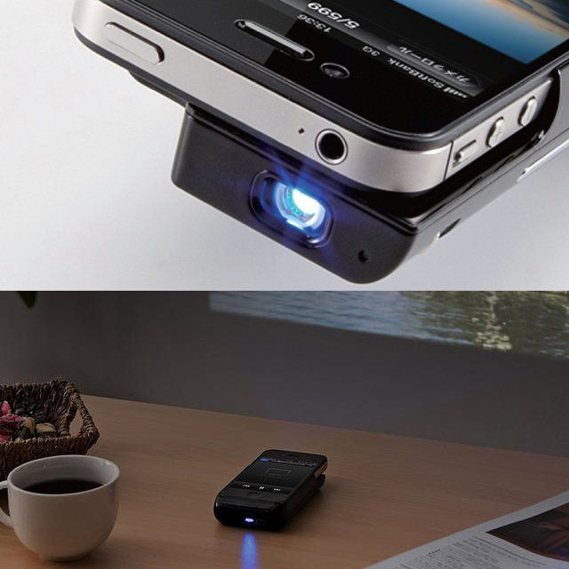 Fancy - Sanwa iPhone 4 Micro Projector