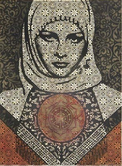 Shepard Fairey -  An American contemporary graphic designer and illustrator.
