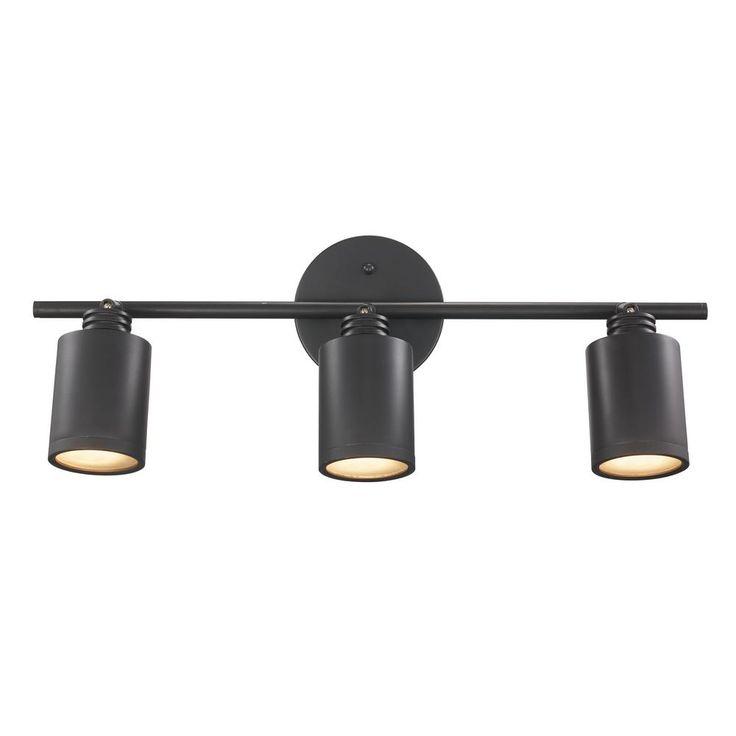 Bel Air Lighting Holdrege 1.8 ft. 3-Light Rubbed Oil Bronze Track Lighting Kit  sc 1 st  Pinterest & Best 25+ Track lighting ideas on Pinterest   Industrial track ... azcodes.com