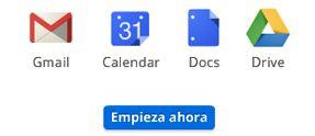 Crear una cuenta al entrar y registrarse en Gmail