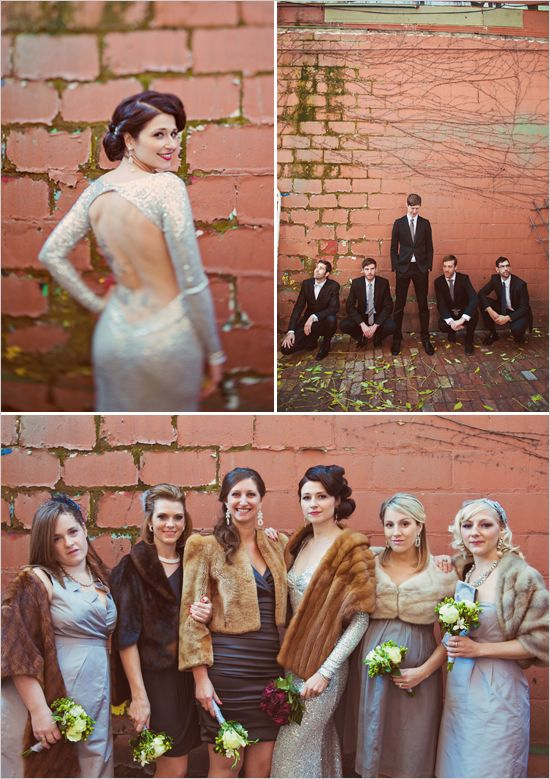 SO Vintage Chic Non Traditional But I Love It The Bride Is