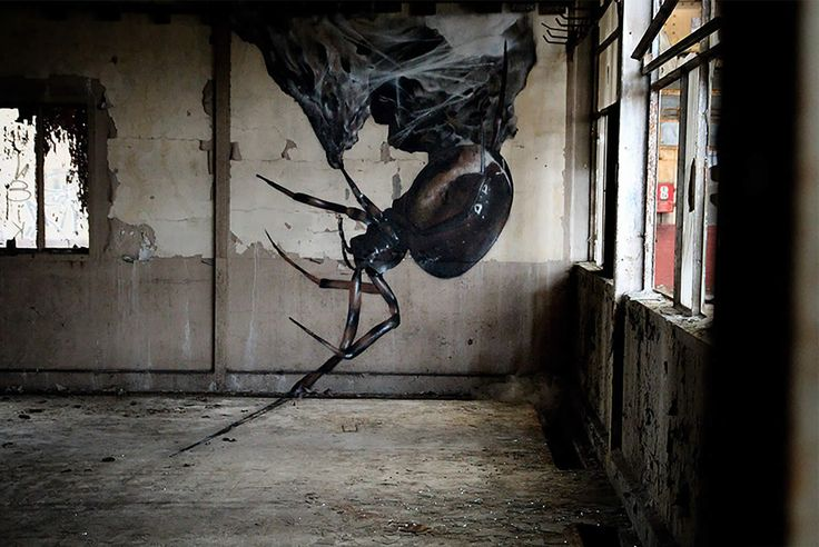 3d insects and giant birds the graffiti art of mantra street art tags pinterest. Black Bedroom Furniture Sets. Home Design Ideas