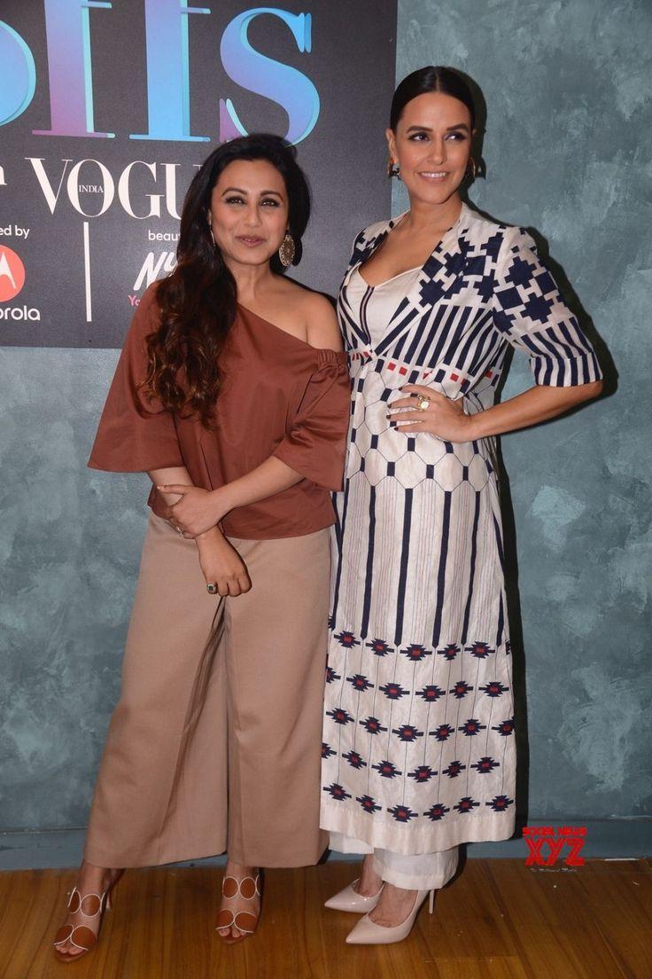 "Mumbai: ""Vogue BFFs""  Rani Mukerji and Neha Dhupia - Social News XYZ"