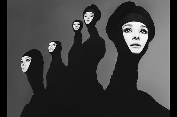 Audrey Hepburn, New York, January 1967 © Richard Avedon via TIME