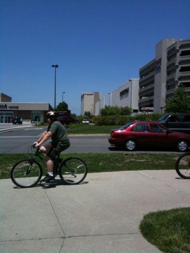 bike rider on Cherry Creek Trail Photo
