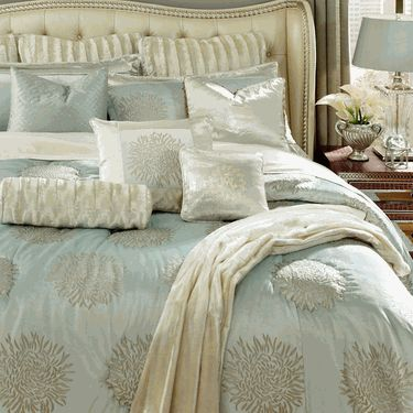 $949 Harlington Luxury Bedding Collection by Michael Amini Bedding from AICO, Luxury Bedding Sets and Luxury Comforter Sets