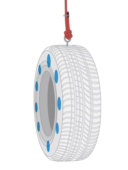 Hágalo Usted Mismo - ¿Cómo hacer un columpio con neumático?