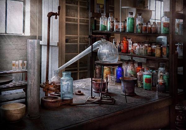 Chem Lab Liqueur Cabinet