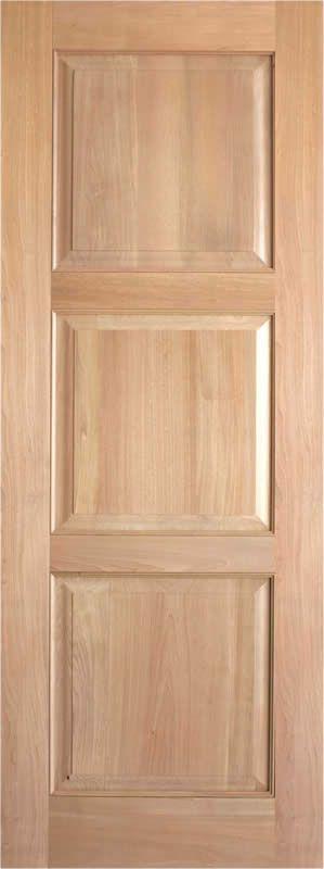 AAW Inc. Rustic 4 1 Interior Rustic Doors 3 Panel Square Top