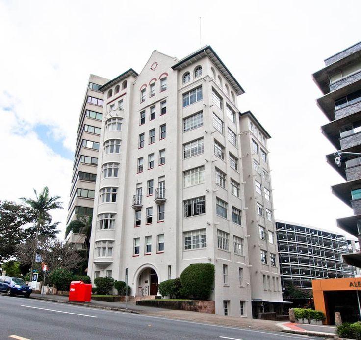 'Craigston' Apartment building, Wickham Tce, Spring Hill Brisbane