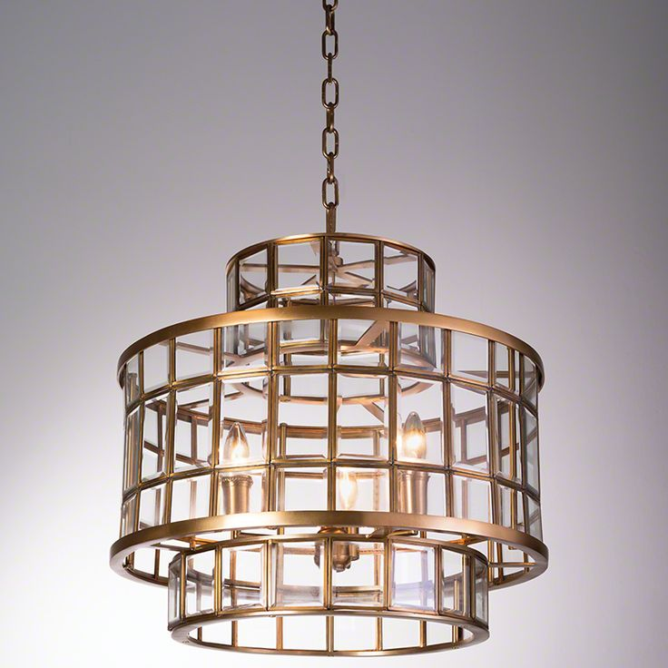 Studio A Alexandria Hall Three Light Pendant Global Views Drum Pendant Lighting Ceiling Li & 160 best Lighting: Chandeliers images on Pinterest | Antique brass ... azcodes.com