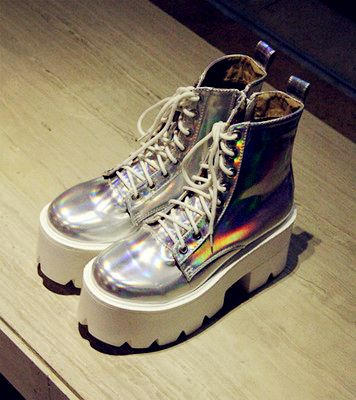 HOLOGRAM PLATFORMS BOOTS · GreenPRO · Online Store Powered by Storenvy