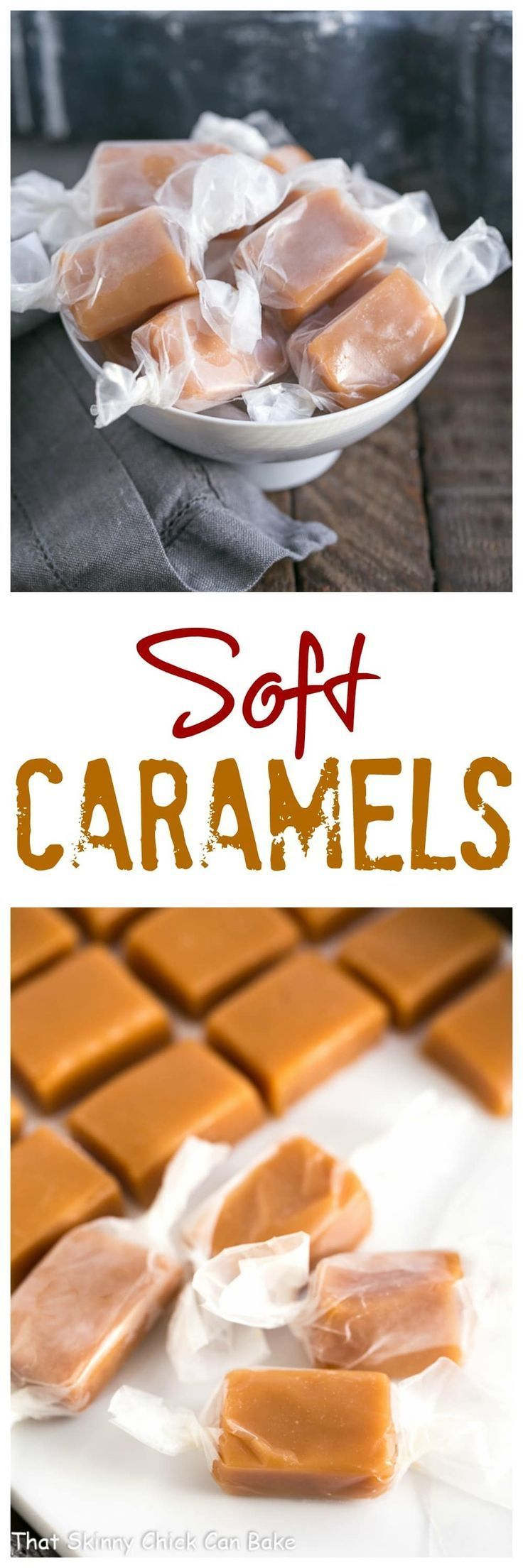Soft Chewy Cream Caramels | Homemade caramels cannot be rivaled! #holidaygifts  #holidayrecipes #caramels