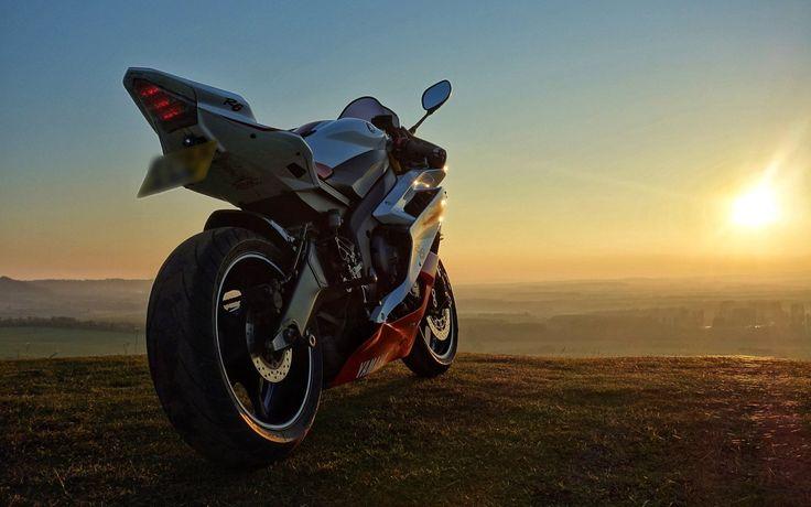 Sunset Yamaha R6 | Motorcycle HD Wallpapers | Pinterest ...