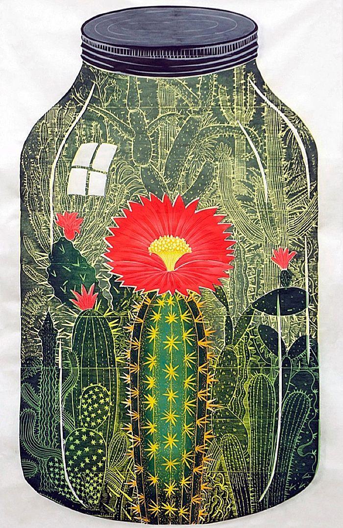 Nature Captured - woodblock prints by artist, John Buck