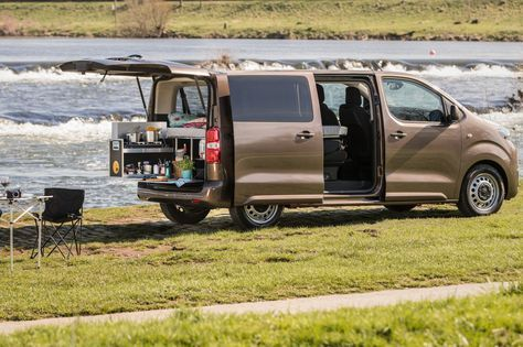 mid Groß-Gerau - Eine Camping-Box des Anbieters Ququq macht den Toyota Proace Verso jetzt zum Teilzeit-Reisemobil.