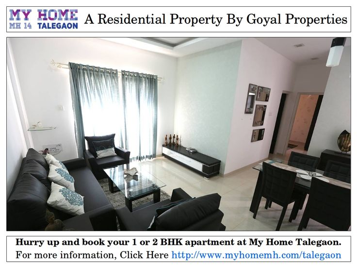 1 & 2 BHK Residential Projects in Talegaon Dabhade Pune at My Home Talegaon