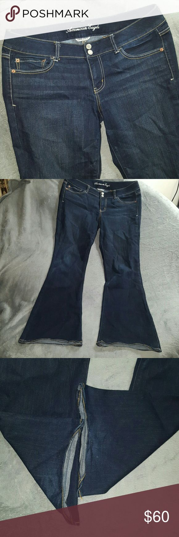 1 HR SALE ARTIST STRETCH Jeans NWOT American Eagle ARTIST SUPER STRETCH Jeans ~ New Without Tags ~ American Eagle ~ Size 14 regular ~ 70% cotton 16% rayon 12% polyester 2% spandex. AMAZING STYLE OF High Quality American Eagle jeans! I ship daily (#B1 location) American Eagle Outfitters Jeans