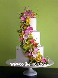 Flowers: Floral Cakes, Cakes Ideas, Cakes 5 0, Hawaiian Flowers, Flowers Power, Flowers Cakes, White Cakes, Beautiful Cakes, Sugar Flowers