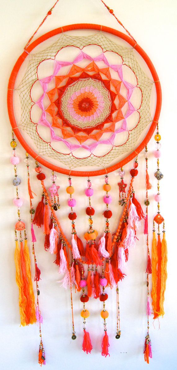Hey, I found this really awesome Etsy listing at https://www.etsy.com/listing/152404002/oversized-colourful-rainbow-dreamcatcher