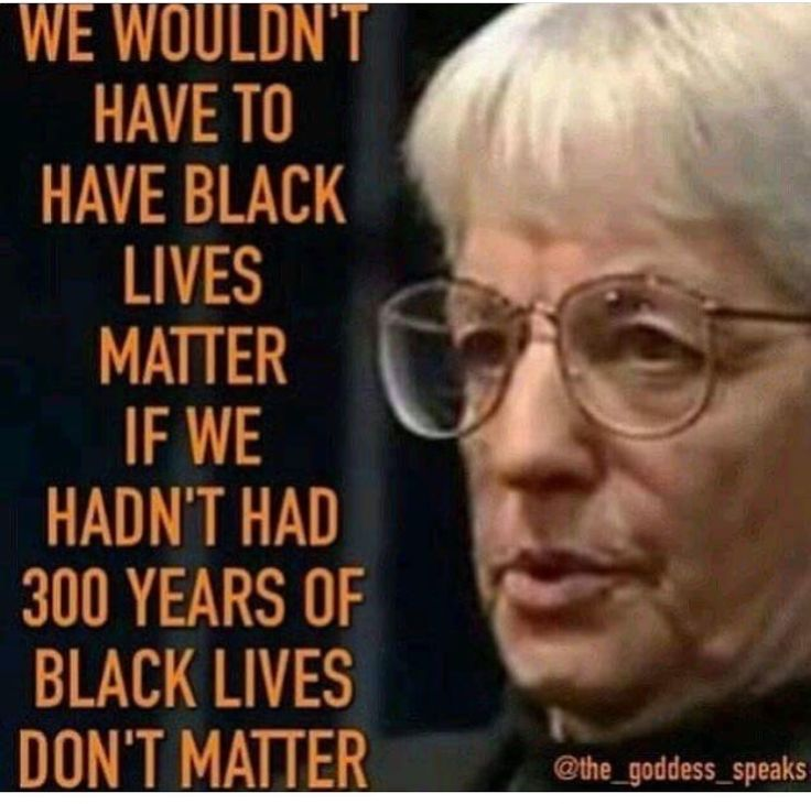 "Of course all lives matter. Yet you don't see anybody going to a breast cancer awareness rally yelling ""hey jackasses ""all"" cancers matter!"" Focus people."