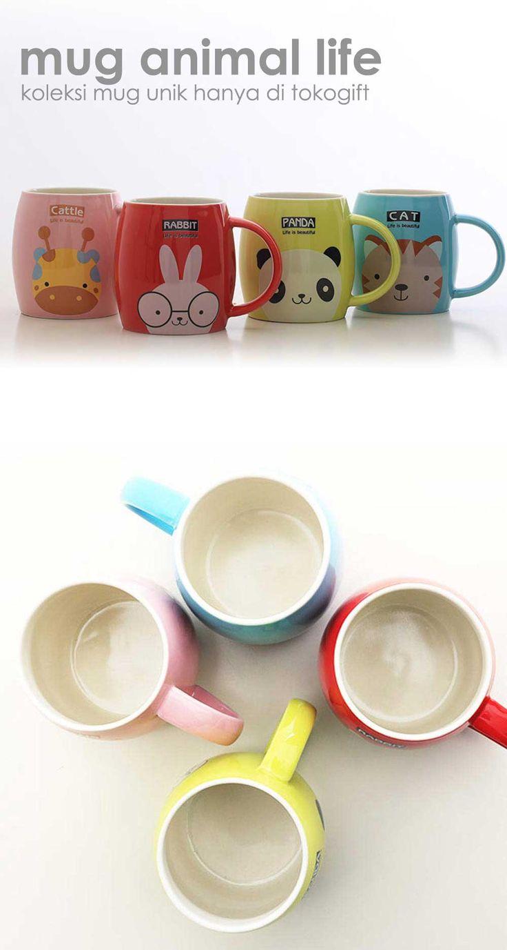 mug animal life koleksi mug lucu ini hanya di tokogift.com, #mug #unik #tokogift