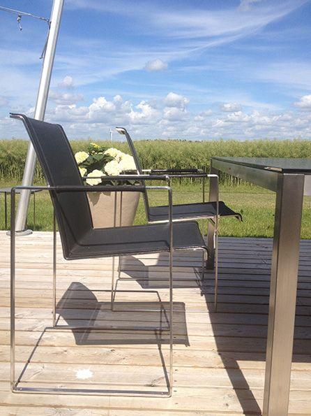 #FueraDentro #garden #furniture #summer #blue sky #lifeform.dk