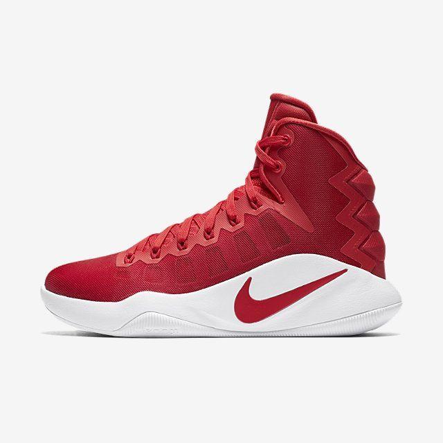 Nike Com Nike Hyperdunk 2016 High Team Women S Basketball Shoe Basketballshoes Womens Basketball Shoes Girls Basketball Shoes High Top Basketball Shoes