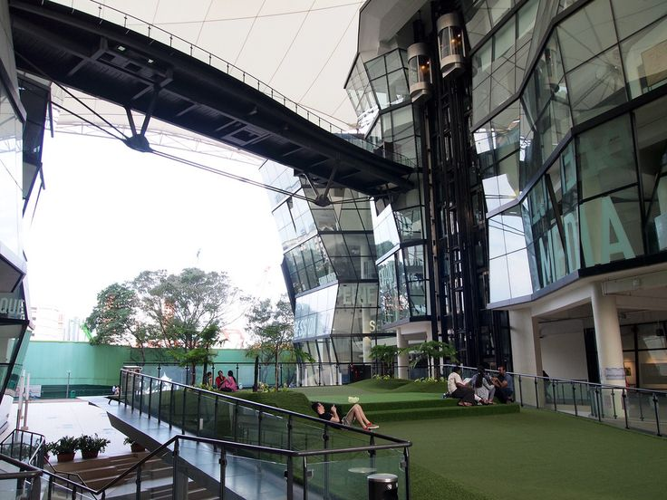 Lasalle college of the arts singapore rsp architects