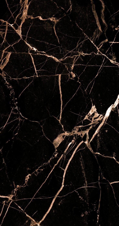 Black marble with rose gold foil – #Black #foil #G…