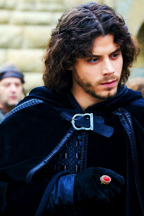 Francois Arnaud as Cesare Borgia, I am hooked on the series.  The Borgias