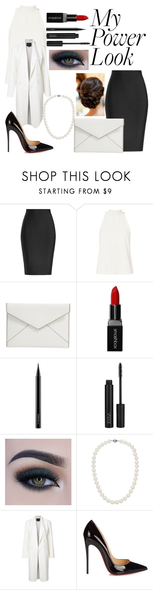 """""""Untitled #190"""" by moreno-jenifer ❤ liked on Polyvore featuring Roland Mouret, A.L.C., Rebecca Minkoff, Smashbox, MAC Cosmetics, Too Faced Cosmetics, Blue Nile, Alexander Wang and Christian Louboutin"""